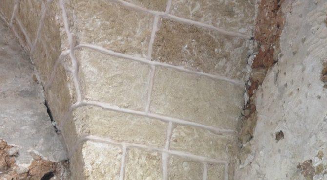 muro a vista pietra leccese