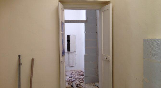 intonaco muro