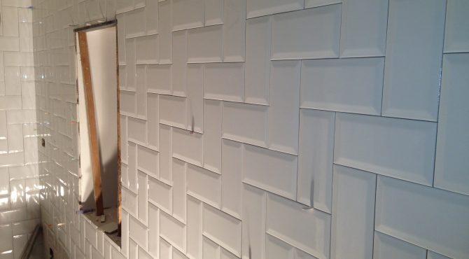 muro piastrellato